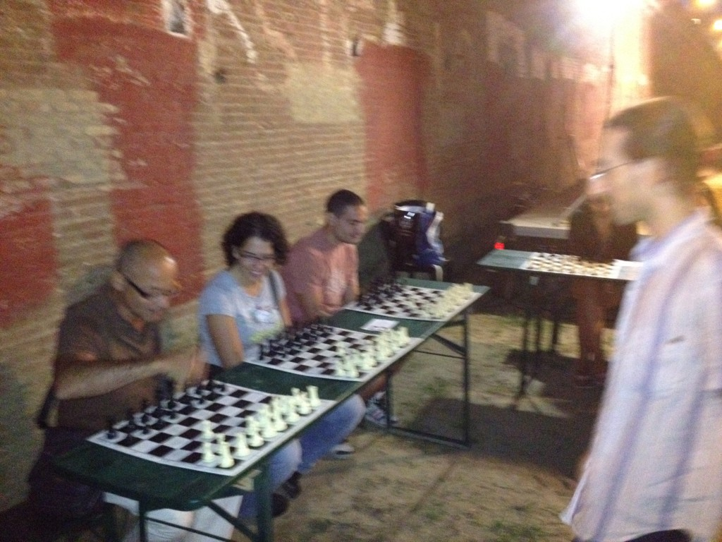 Simultanea - Beach Chess 2012 - 1